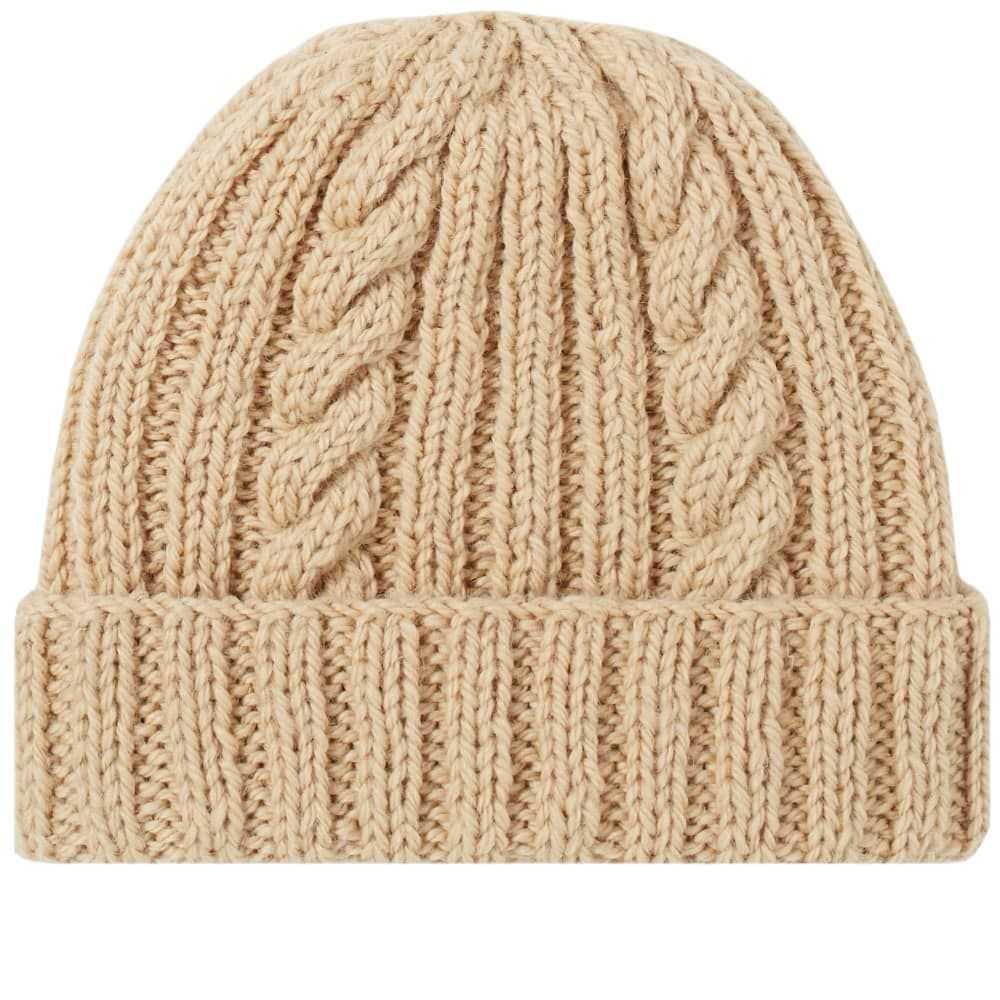 インバーアラン Inverallan メンズ 帽子 【aran hat】Oatmeal