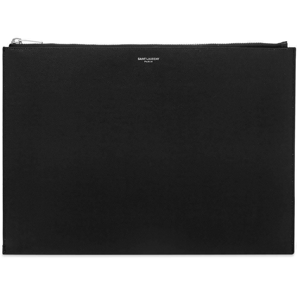 イヴ サンローラン Saint Laurent メンズ タブレットケース 【grain large tablet holder】Black