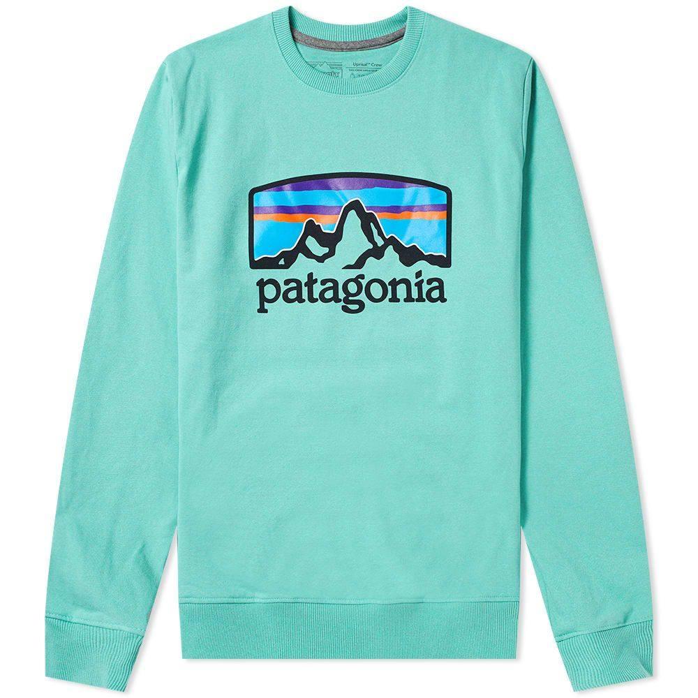 パタゴニア Patagonia メンズ スウェット・トレーナー トップス【Fitz Roy Horizons Uprisal Crew Sweat】Light Beryl Green