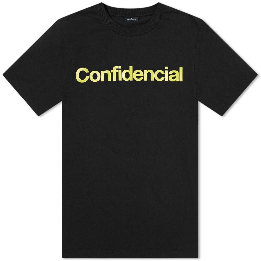 マルセロバーロン Marcelo Burlon メンズ Tシャツ トップス【Confidential Tee】Black