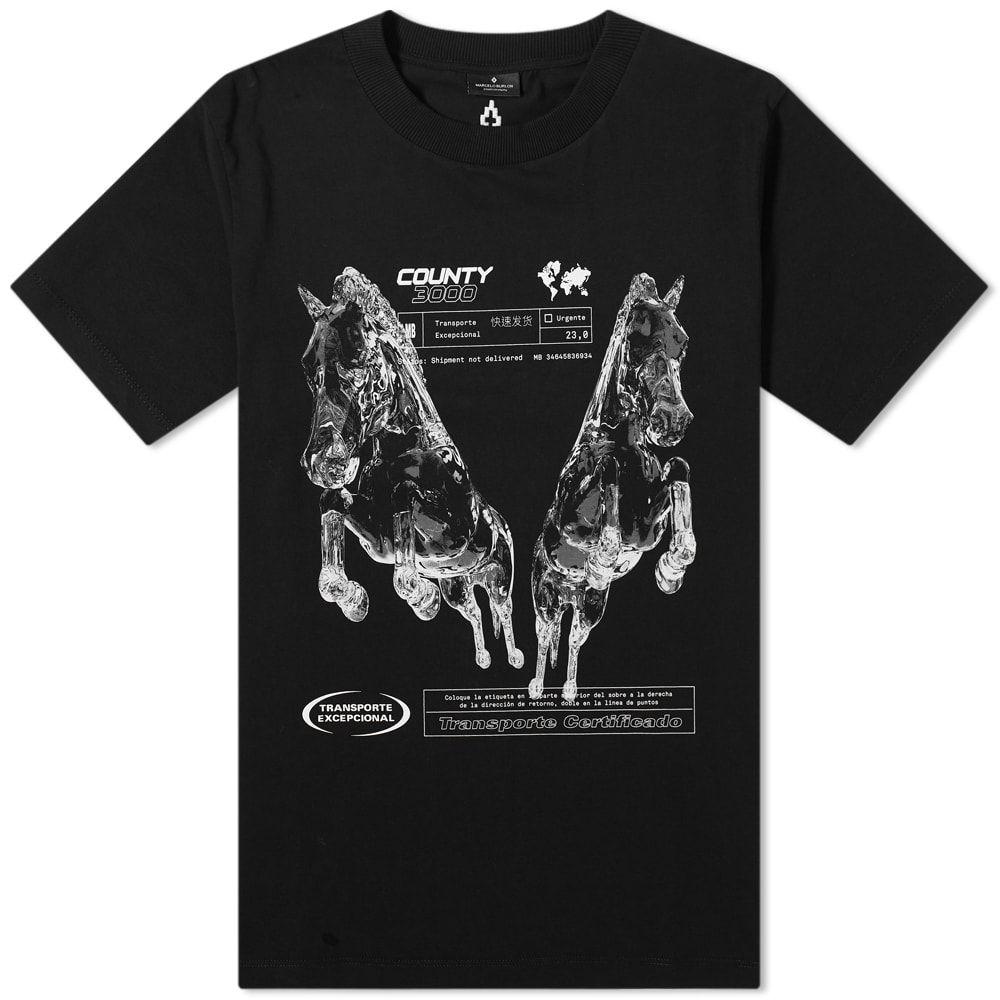 マルセロバーロン Marcelo Burlon メンズ Tシャツ トップス【County Horses Tee】Black