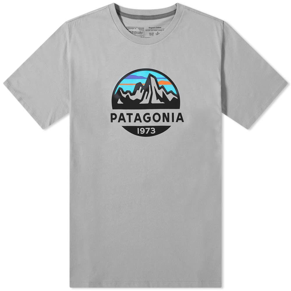 パタゴニア メンズ 特価 トップス Tシャツ Feather Grey サイズ交換無料 Scope Patagonia Organic 舗 Roy Tee Fitz
