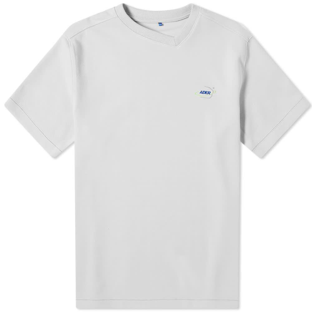 アーダーエラー ADER Error メンズ Tシャツ ロゴTシャツ トップス【ADER error Ae Logo Tee】Grey