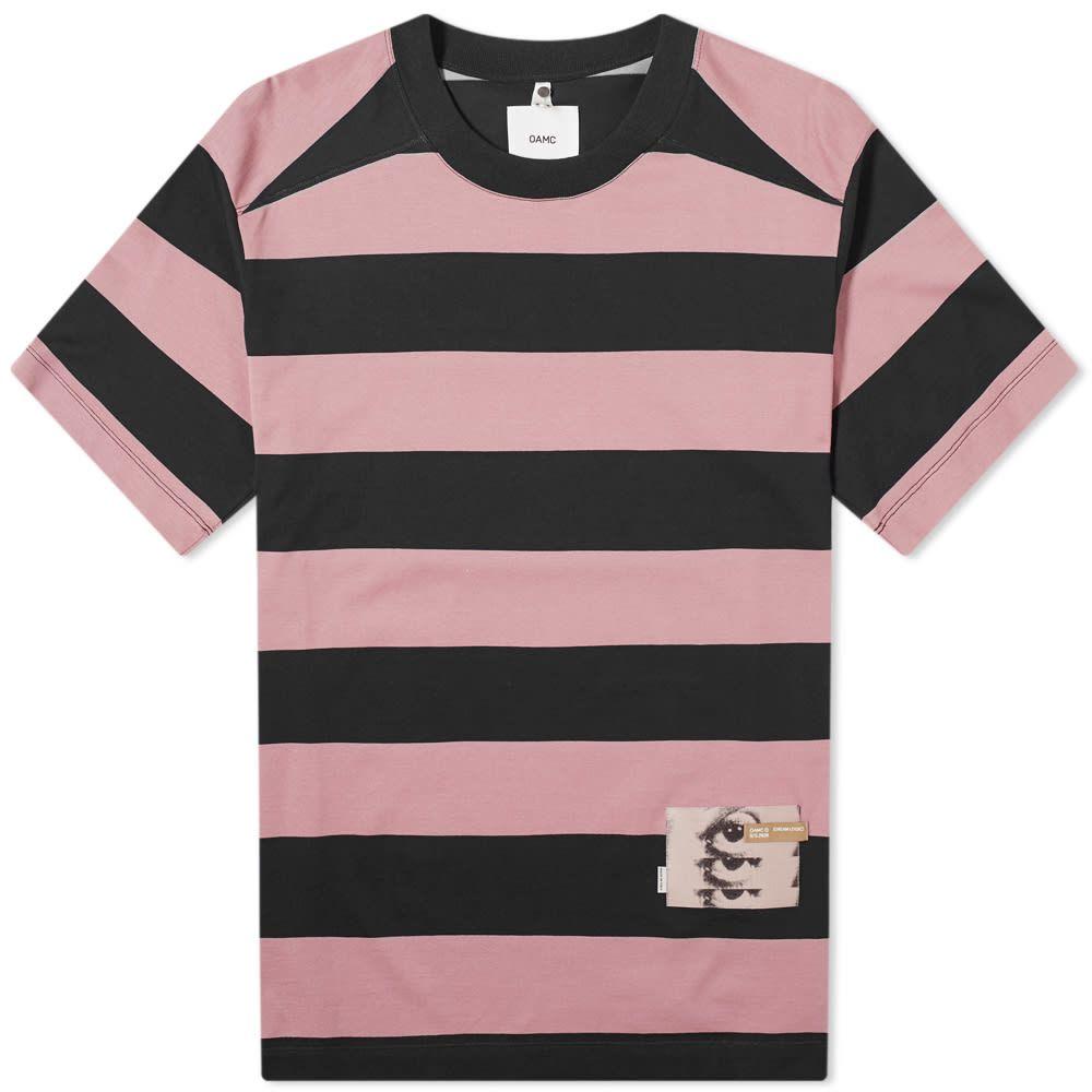 オーエーエムシー OAMC メンズ Tシャツ トップス【Jay Wide Stripe Tee】Black
