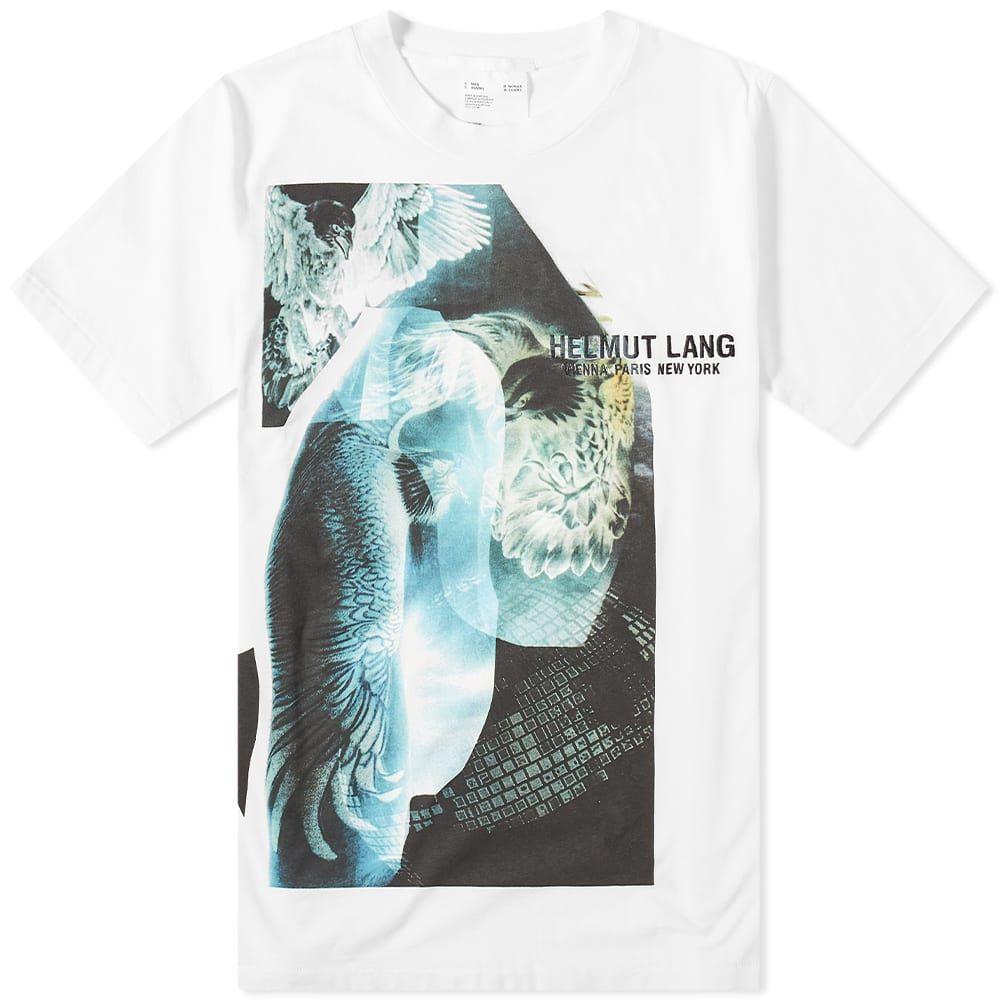 ヘルムート ラング Helmut Lang メンズ Tシャツ トップス【Eagle Print Tee】Chalk White