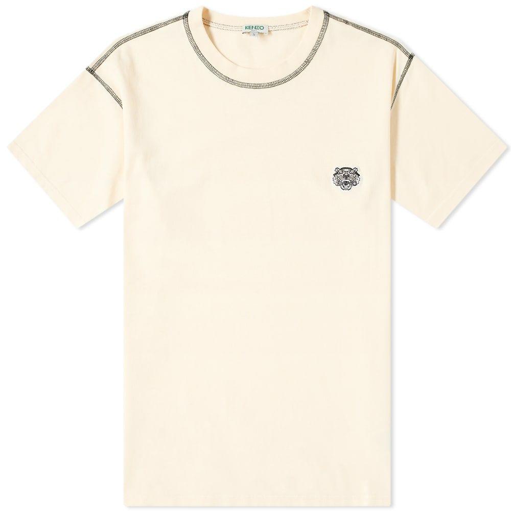 ケンゾー Kenzo メンズ Tシャツ ロゴTシャツ トップス【Tiger Logo Tee】Ecru