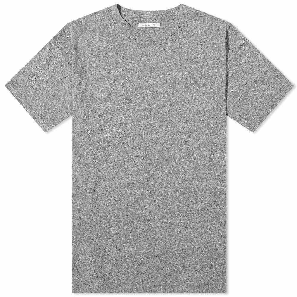 ジョン エリオット John Elliott メンズ Tシャツ トップス【University Tee】Grey