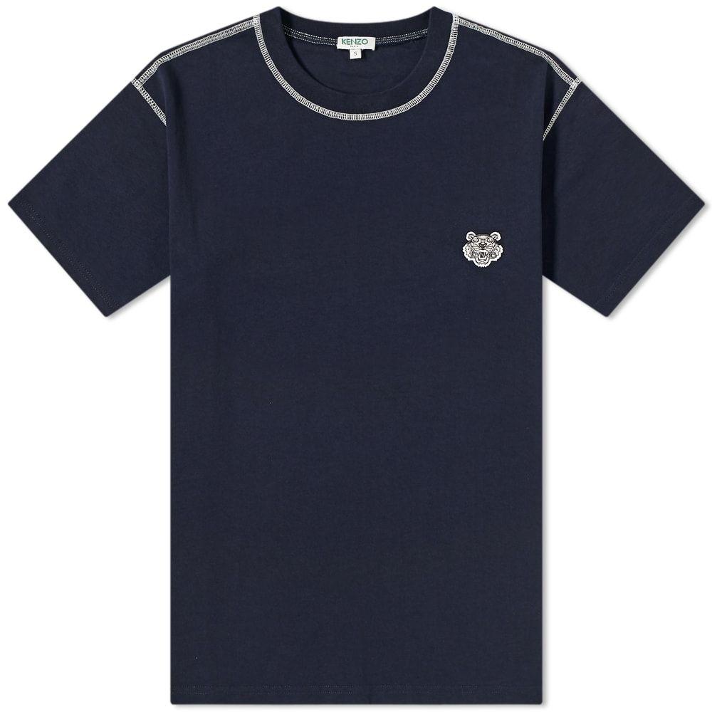 ケンゾー Kenzo メンズ Tシャツ ロゴTシャツ トップス【Tiger Logo Tee】Midnight Blue