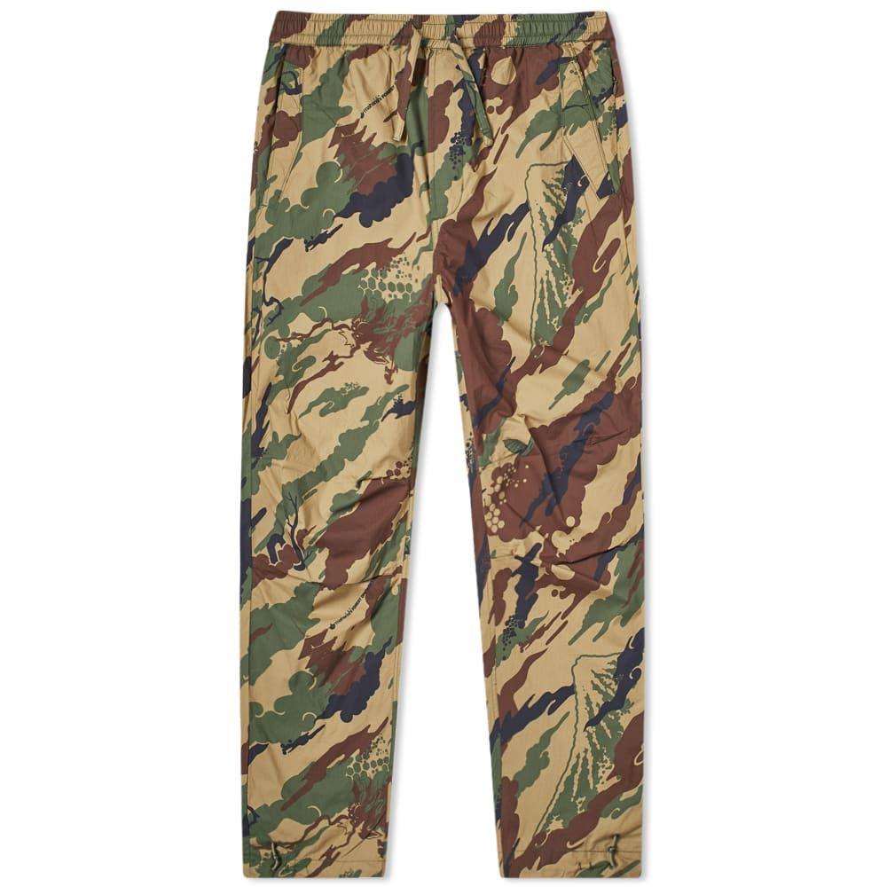マハリシ Maharishi メンズ ボトムス・パンツ 【Loose Woven Camo Pant】Woodland