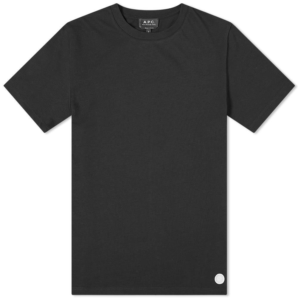 アーペーセー A.P.C. メンズ Tシャツ トップス【Leo Classic Tee】Black