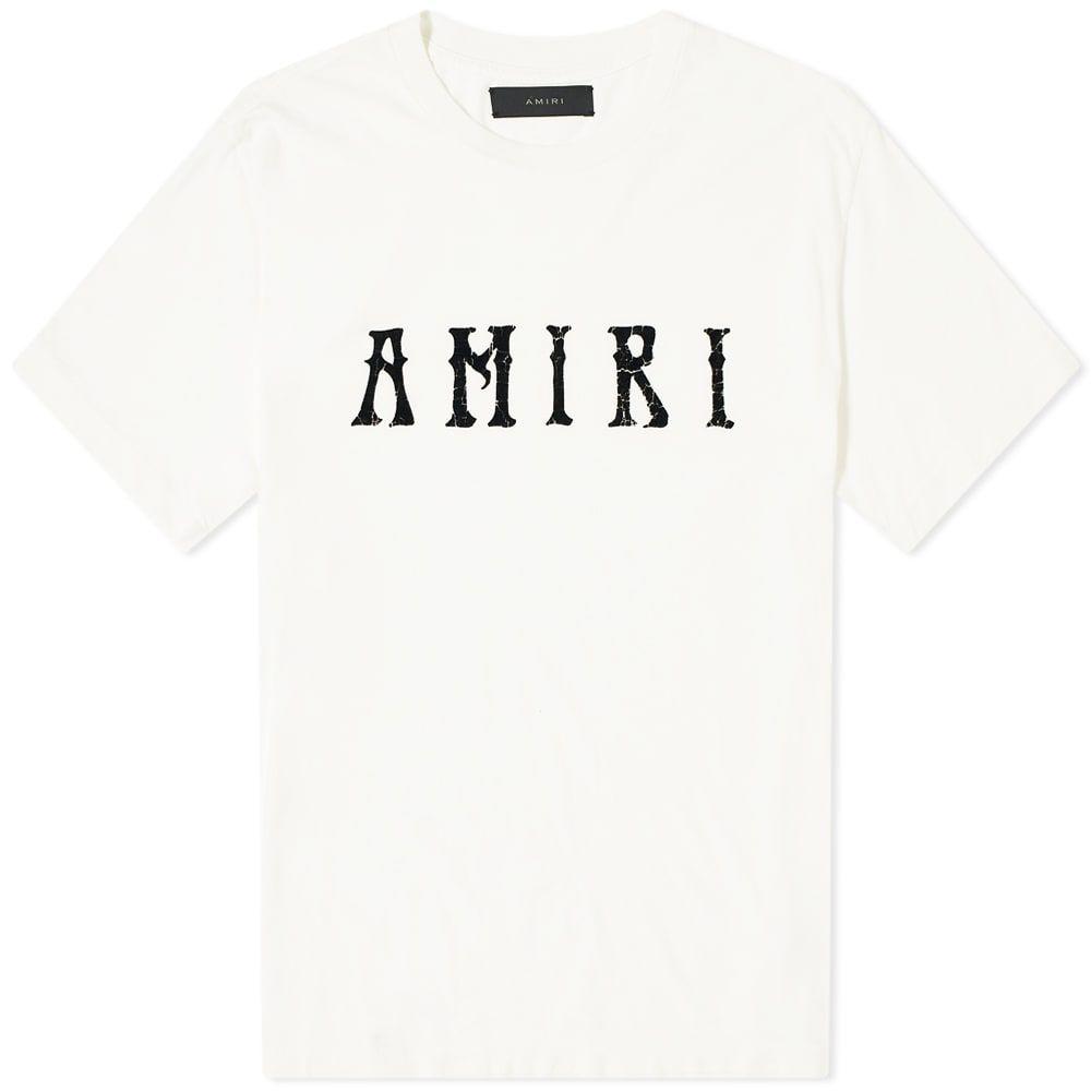 アミリ AMIRI メンズ Tシャツ ロゴTシャツ トップス【Hippie Logo Tee】Ivory