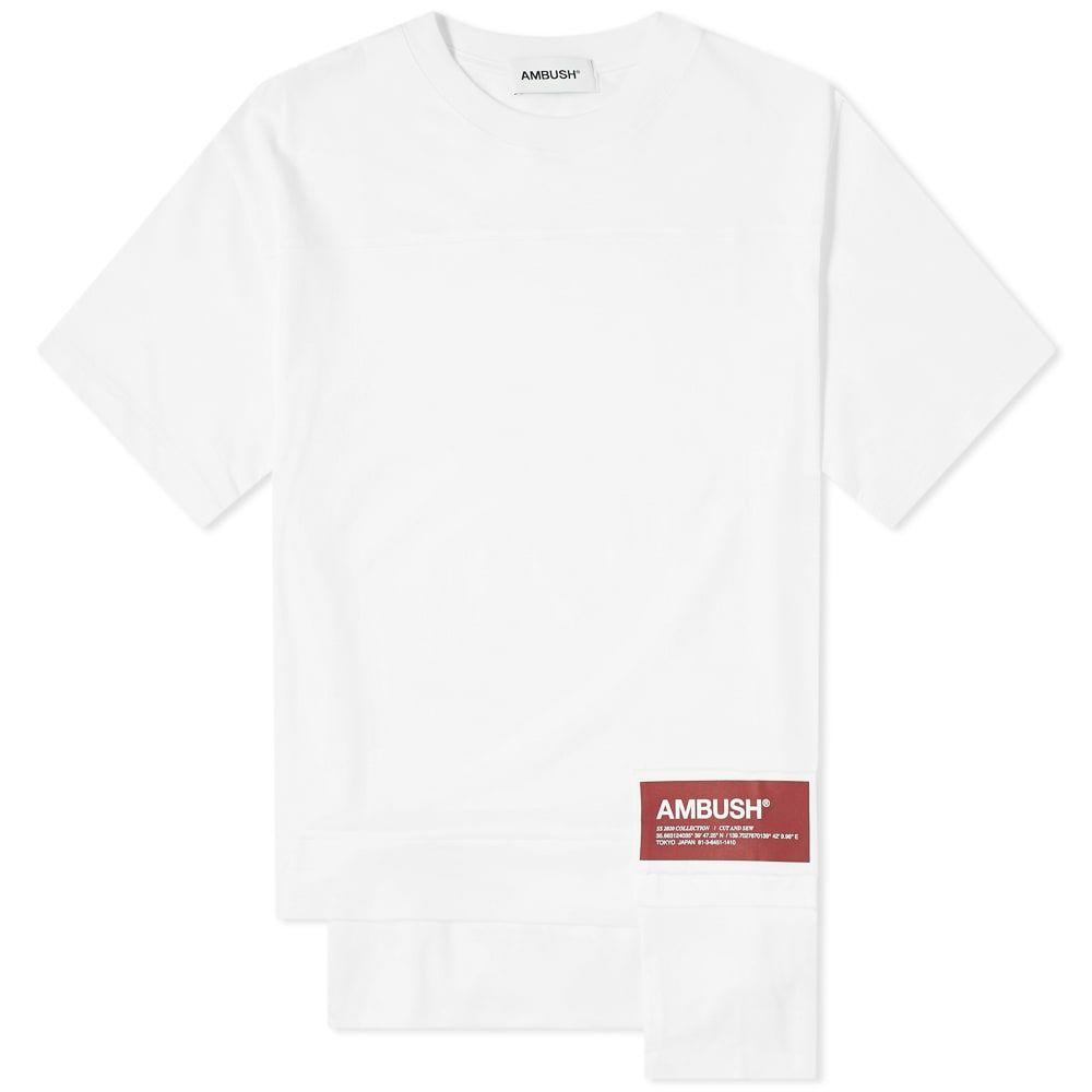 アンブッシュ Ambush メンズ Tシャツ ポケット トップス【New Waist Pocket Tee】White
