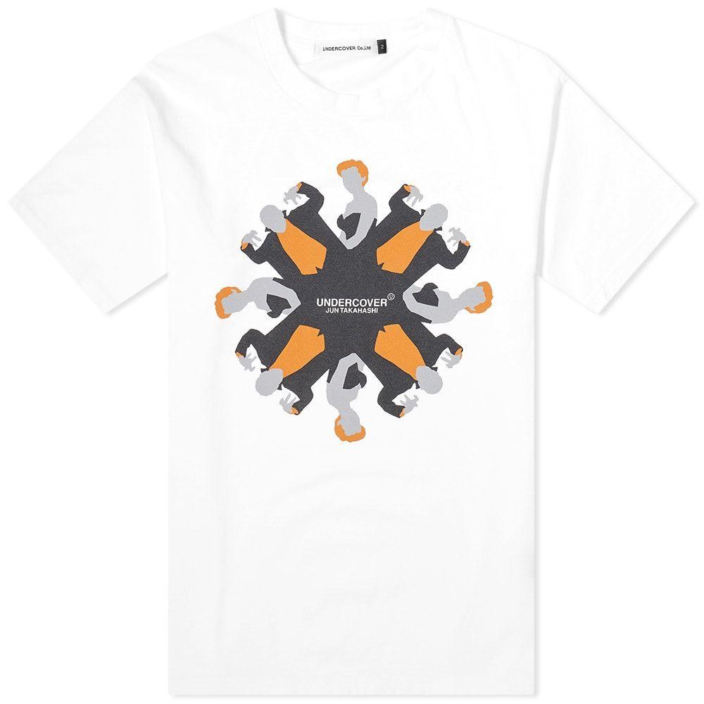 アンダーカバー Undercover メンズ Tシャツ ロゴTシャツ トップス【Vampire Logo Tee】White