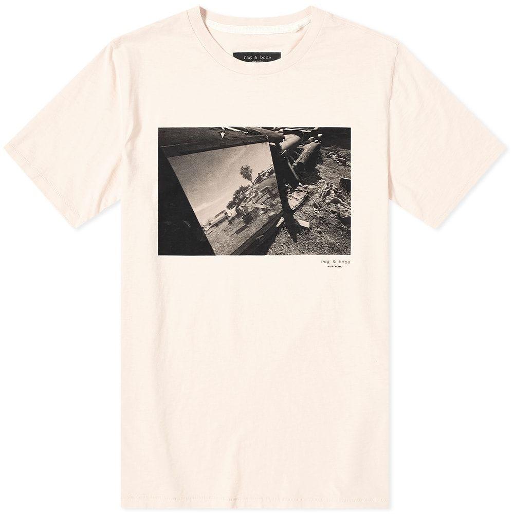 ラグ&ボーン Rag & Bone メンズ Tシャツ トップス【Junk Yard Photo Tee】Dusty Pink