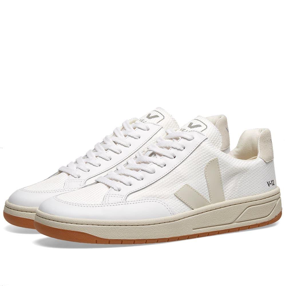 ヴェジャ Veja メンズ スニーカー シューズ・靴【V-10 Mesh Basketball Sneaker】White/Natural