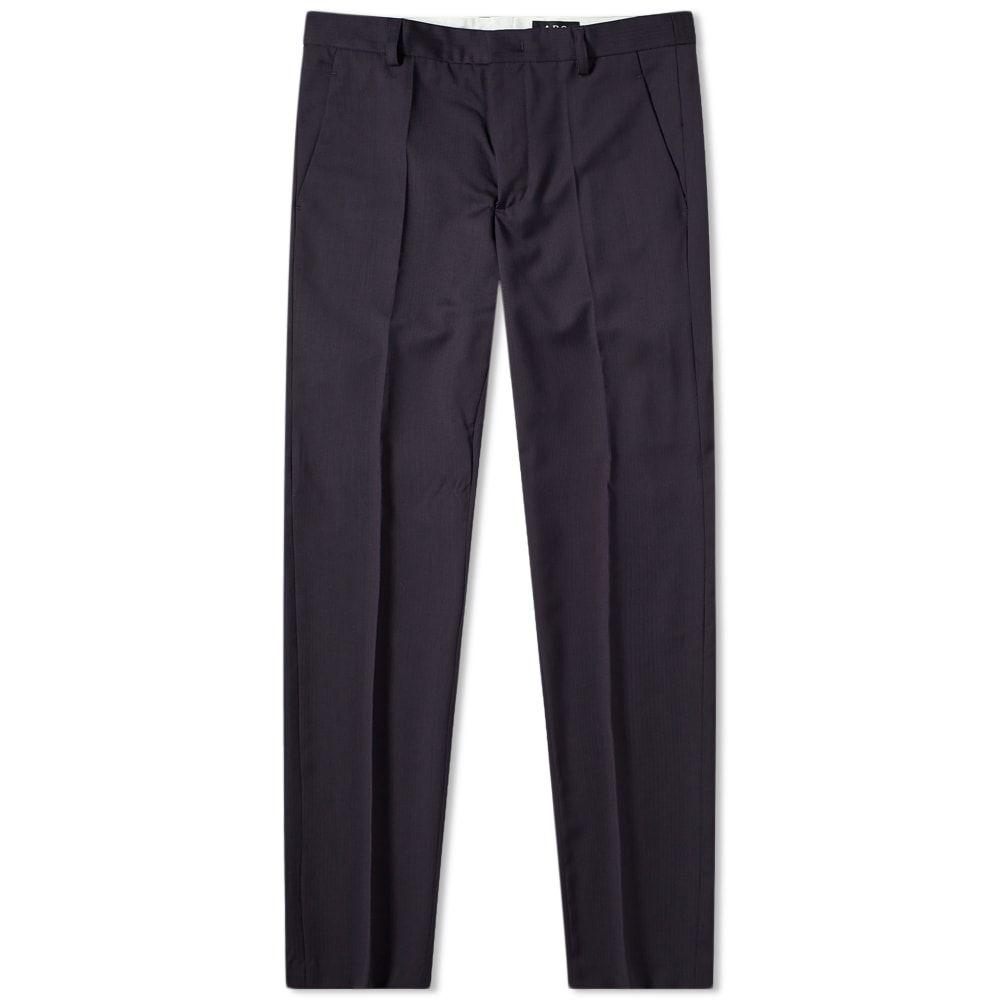 アーペーセー A.P.C. メンズ ボトムス・パンツ 【Formal Trouser】Dark Navy