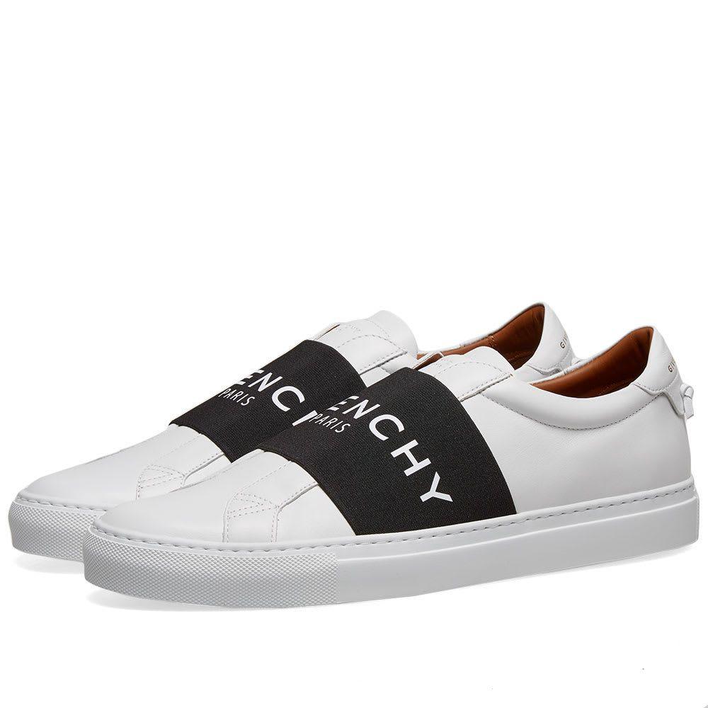 ジバンシー Givenchy メンズ スニーカー ローカット シューズ・靴【Urban Street Low Elastic Logo Sneaker】White/Black