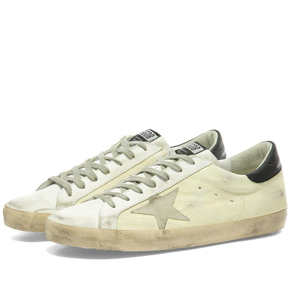 ゴールデン グース Golden Goose メンズ スニーカー シューズ・靴【Superstar Fluro Leather Sneaker】White/Fluo