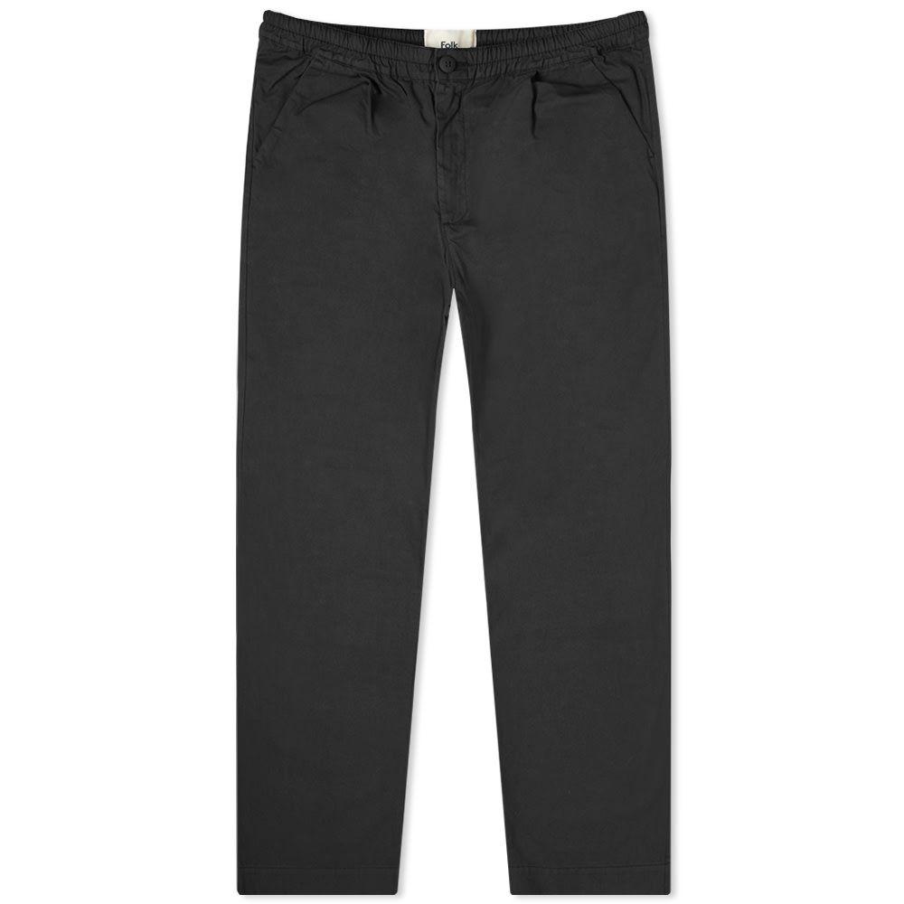 フォーク Folk メンズ ボトムス・パンツ 【Loom Pant】Soft Black