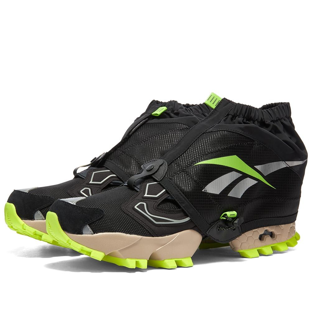 リーボック Reebok メンズ スニーカー シューズ・靴【Instapump Fury Trail Shroud】Black/True Grey/Beige