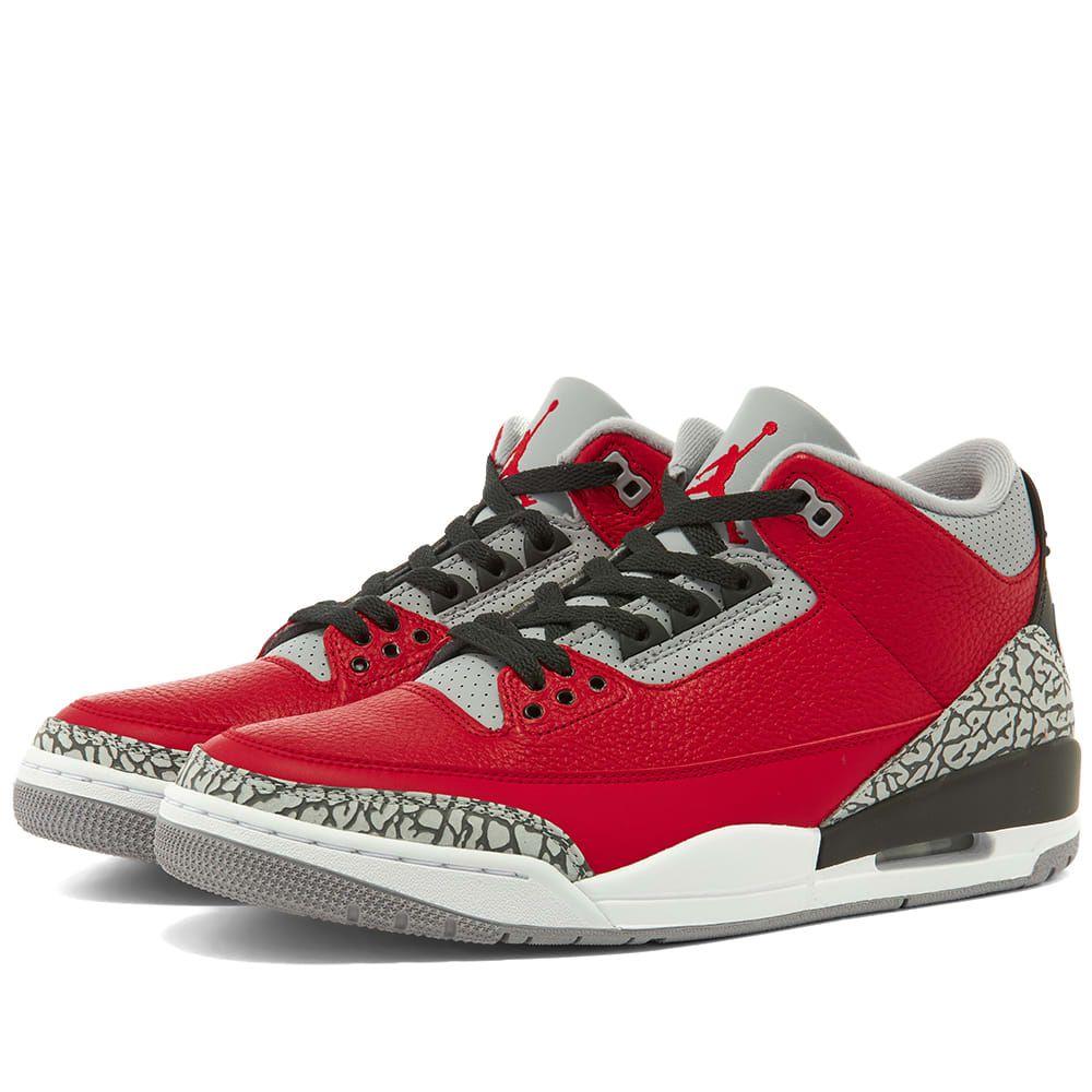 ナイキ ジョーダン Nike Jordan メンズ スニーカー シューズ・靴【Air Jordan 3 Retro SE】Red/Grey/Black
