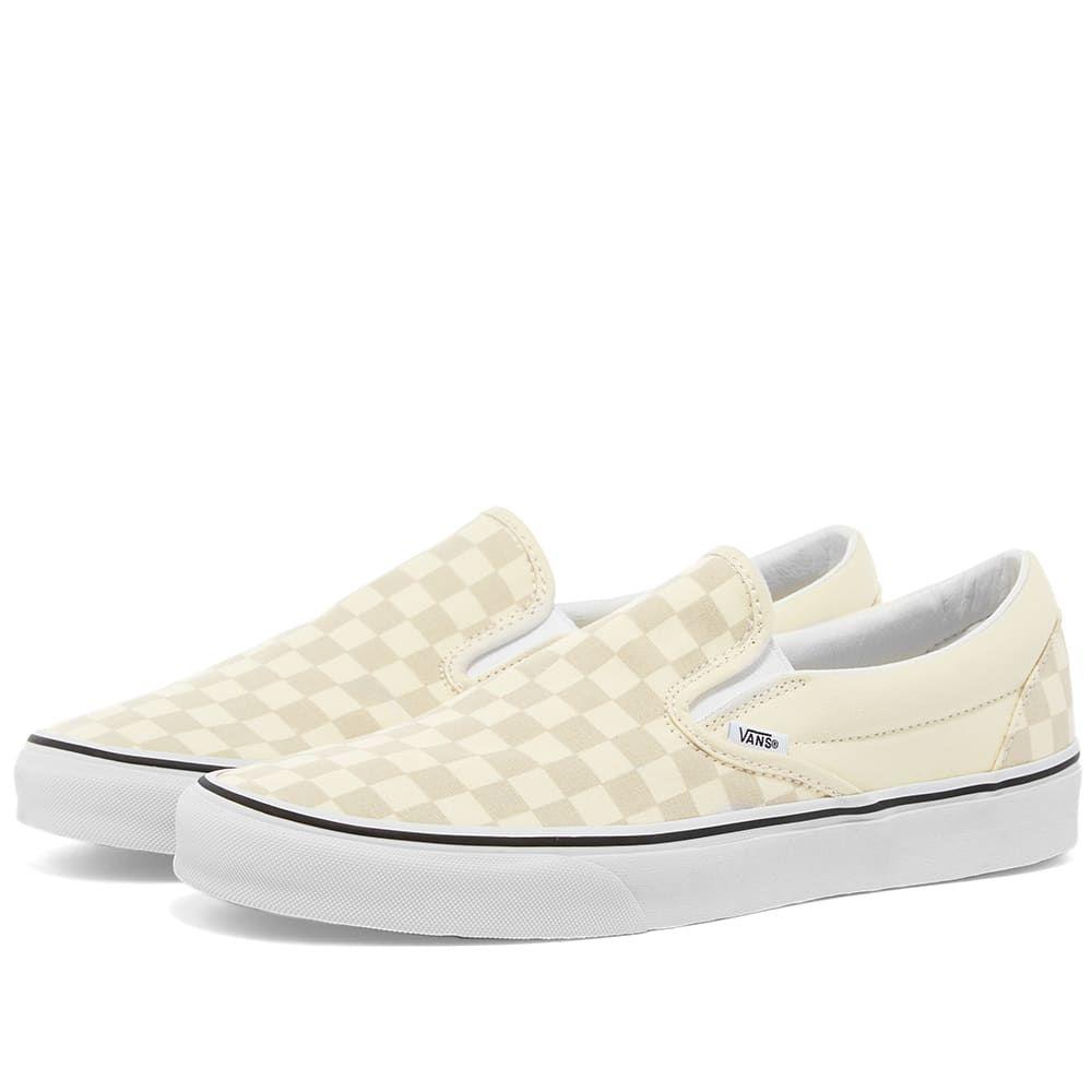 ヴァンズ Vans メンズ スリッポン・フラット シューズ・靴【UA Classic Slip-On】Classic White/True White