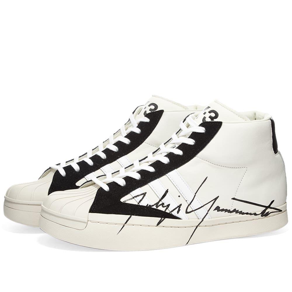 ワイスリー Y-3 メンズ スニーカー シューズ・靴【Yohji Pro】Off White/Black