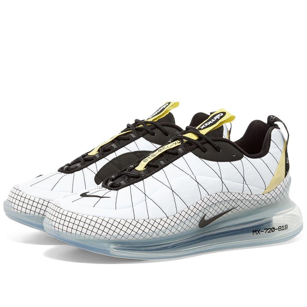 ナイキ Nike メンズ スニーカー シューズ・靴【Max 720 818】White/Black/Yellow