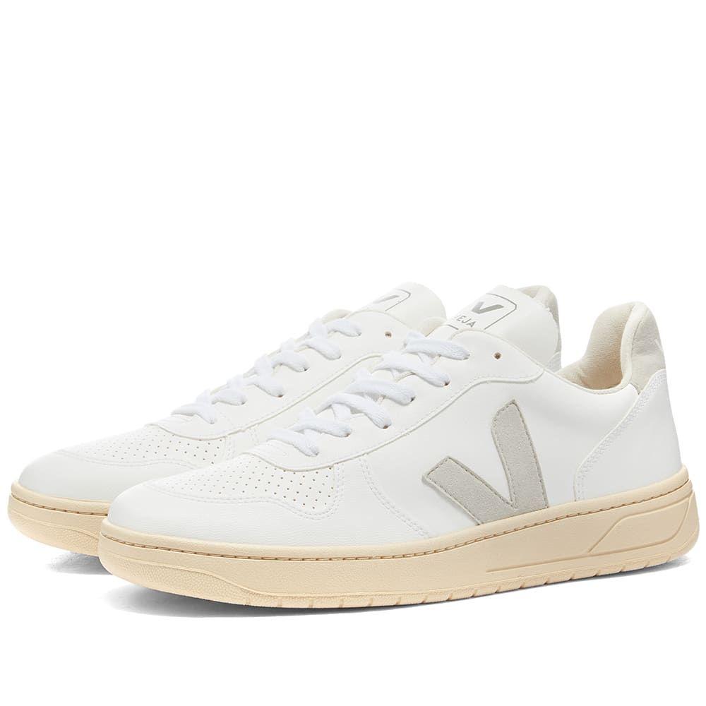 ヴェジャ Veja メンズ スニーカー シューズ・靴【V-10 Vegan Sneaker】White/Natural