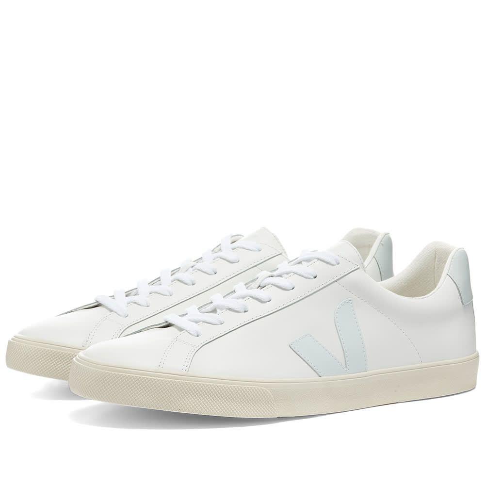 ヴェジャ Veja メンズ スニーカー シューズ・靴【Esplar Clean Leather Sneaker】White/Mint