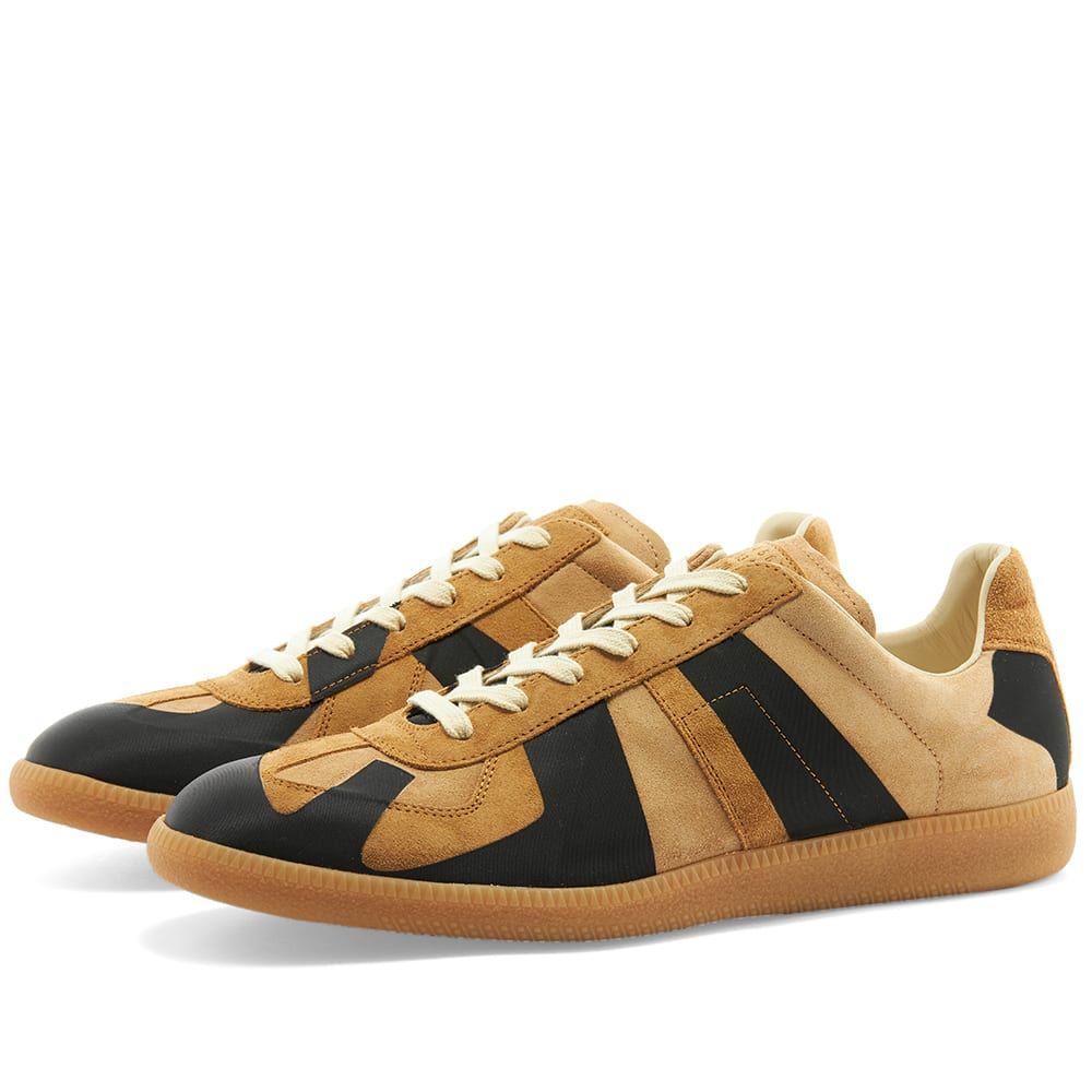 メゾン マルジェラ Maison Margiela メンズ スニーカー ローカット シューズ・靴【22 Laser Replica Low Sneaker】Stucco/Hazel