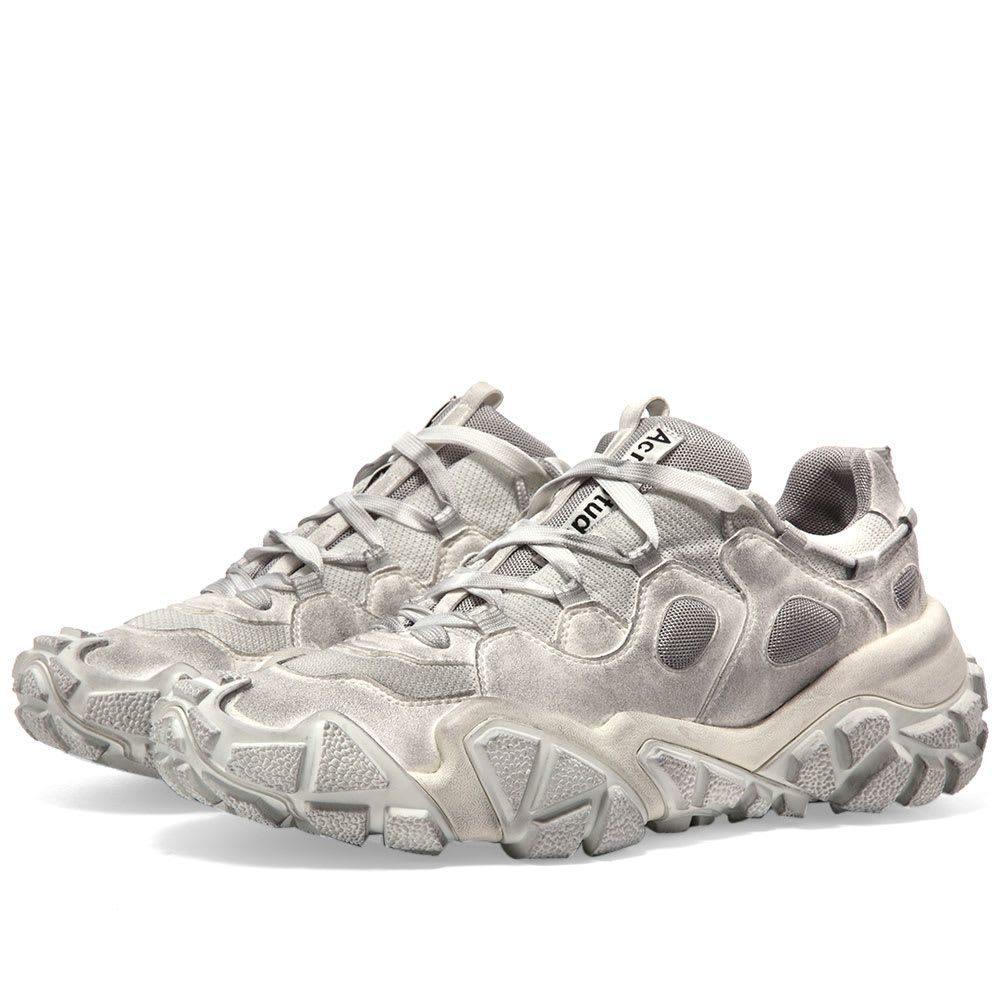 アクネ ストゥディオズ Acne Studios メンズ スニーカー シューズ・靴【Bolzter Tumbled M Sneaker】White