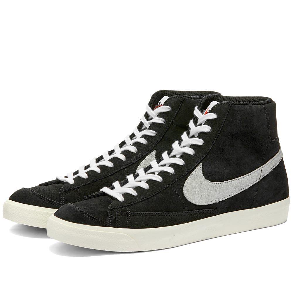 ナイキ Nike メンズ スニーカー シューズ・靴【Blazer Mid '77 Suede】Black/White