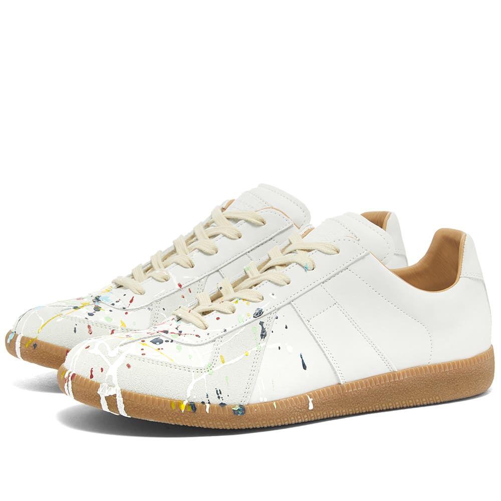 メゾン マルジェラ Maison Margiela メンズ スニーカー シューズ・靴【22 Painter Leather Replica Sneaker】White