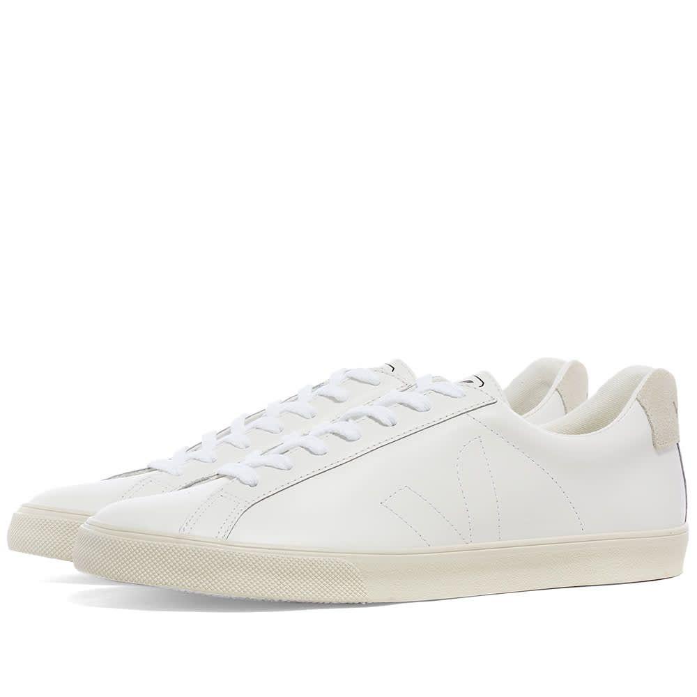 ヴェジャ Veja メンズ スニーカー シューズ・靴【Esplar Clean Leather Sneaker】White