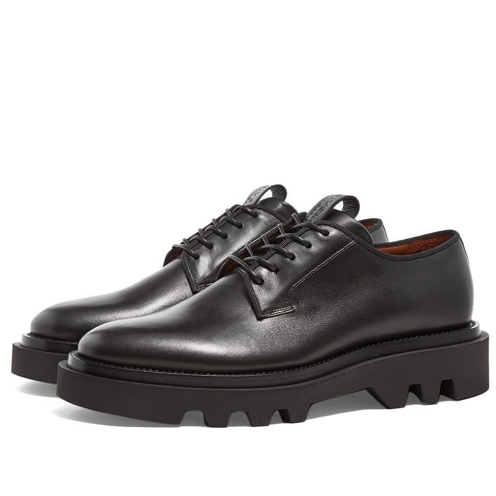 ジバンシー Givenchy メンズ 革靴・ビジネスシューズ ダービーシューズ シューズ・靴【combat derby shoe】Black
