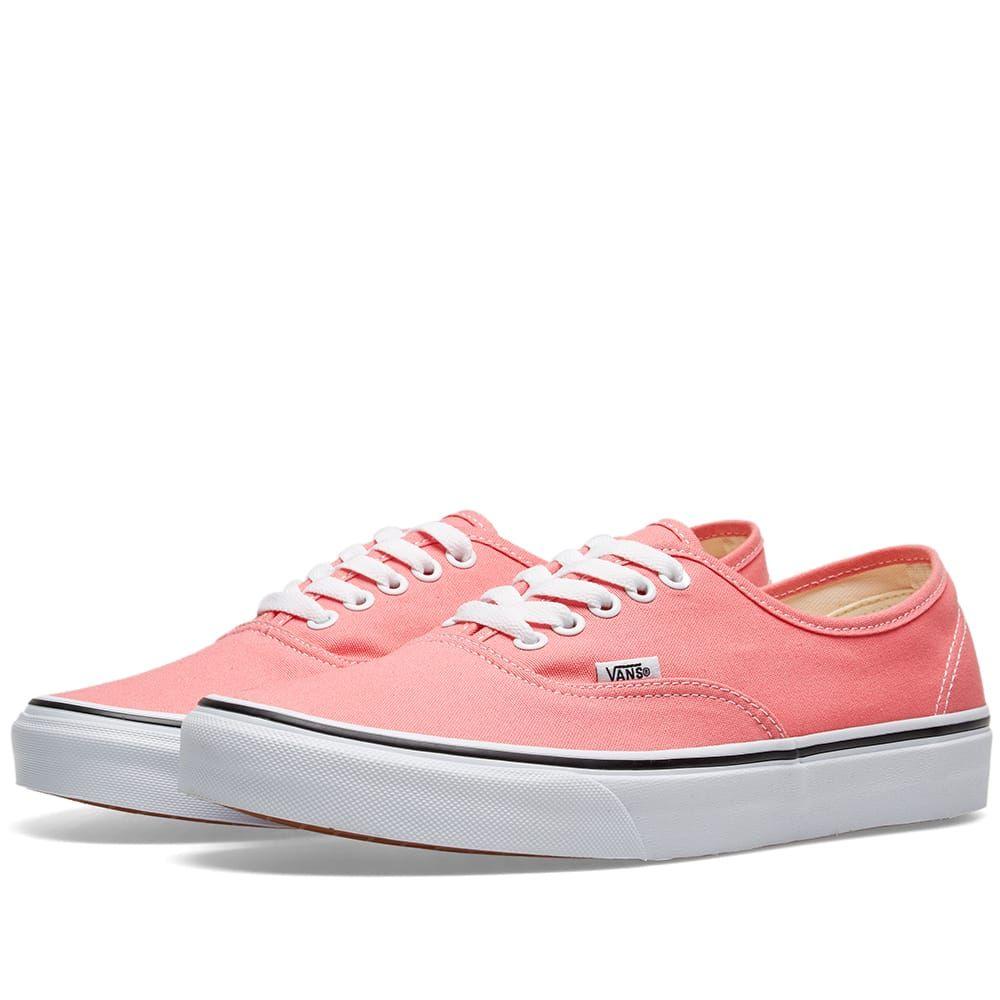 ヴァンズ Vans メンズ スニーカー シューズ・靴【ua authentic】Strawberry Pink/True White