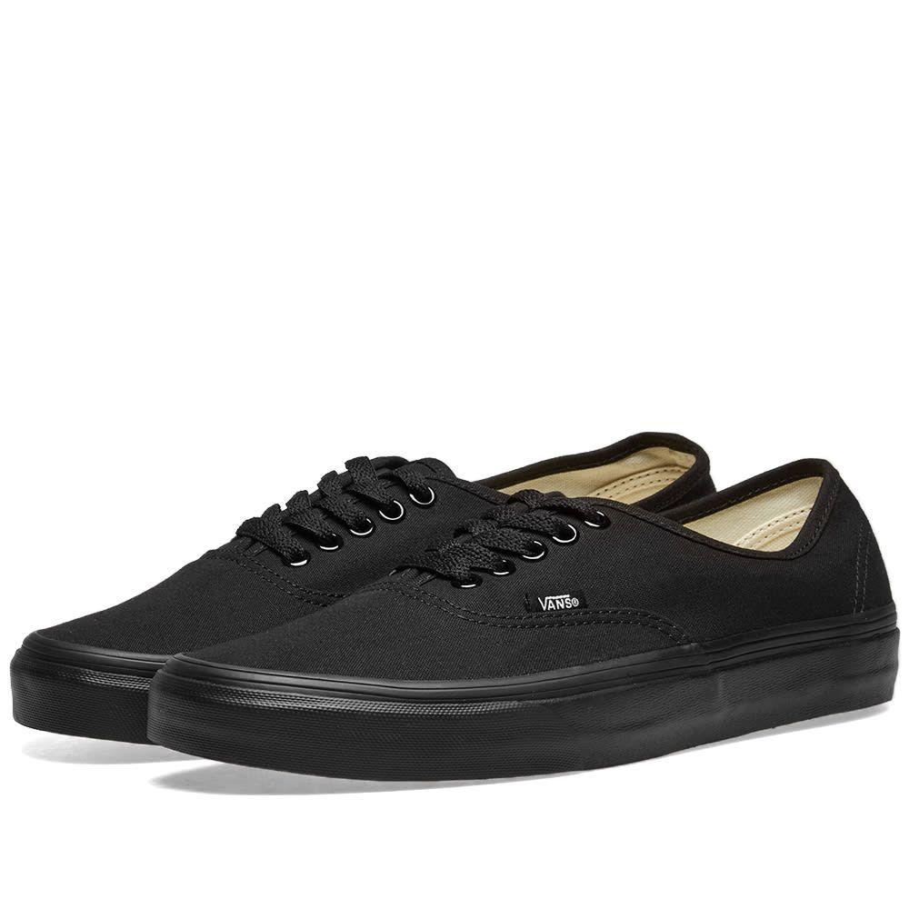 ヴァンズ Vans メンズ スニーカー シューズ・靴【authentic】Black/Black
