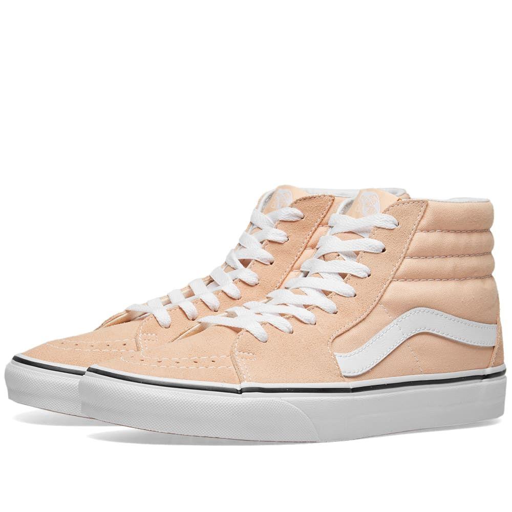 ヴァンズ Vans メンズ スニーカー シューズ・靴【sk8-hi】Bleached Apricot/True White