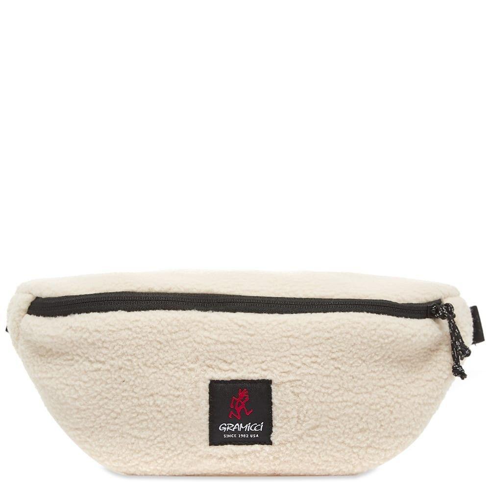 グラミチ Gramicci メンズ ボディバッグ・ウエストポーチ バッグ【boa fleece body bag】Ivory