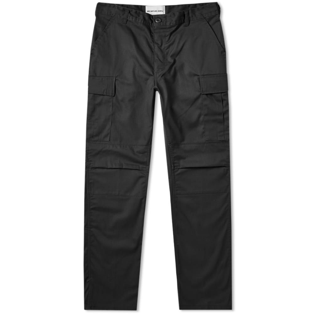 エムケーアイ MKI メンズ カーゴパンツ ボトムス・パンツ【cargo pant】Black