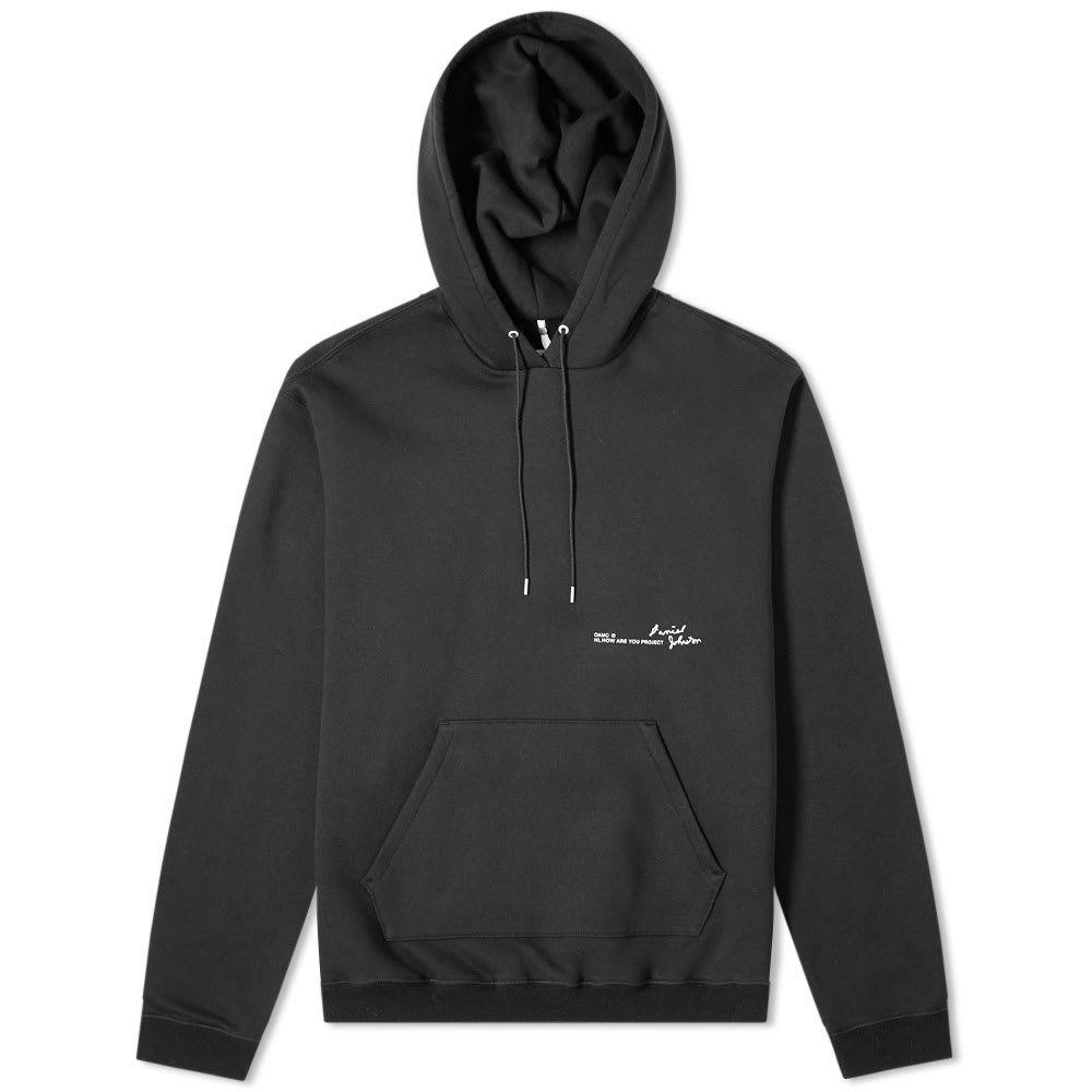 オーエーエムシー OAMC メンズ パーカー トップス【let the sunshine in hoody】Black