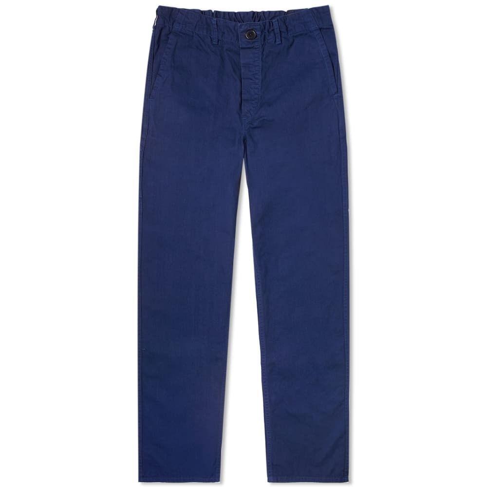 オアスロウ orSlow メンズ ボトムス・パンツ ワークパンツ【french work pant】Blue