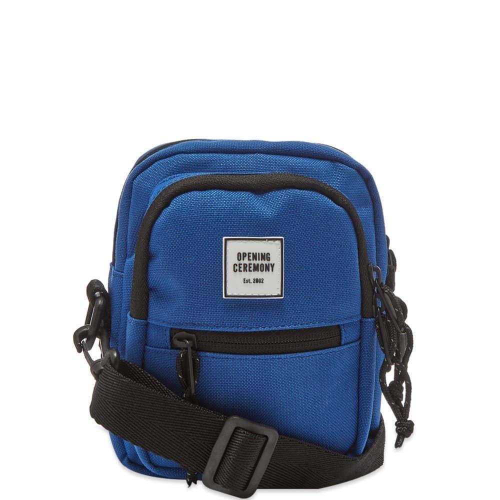 オープニングセレモニー Opening Ceremony メンズ ショルダーバッグ バッグ【mini logo cross-body bag】Royal Blue