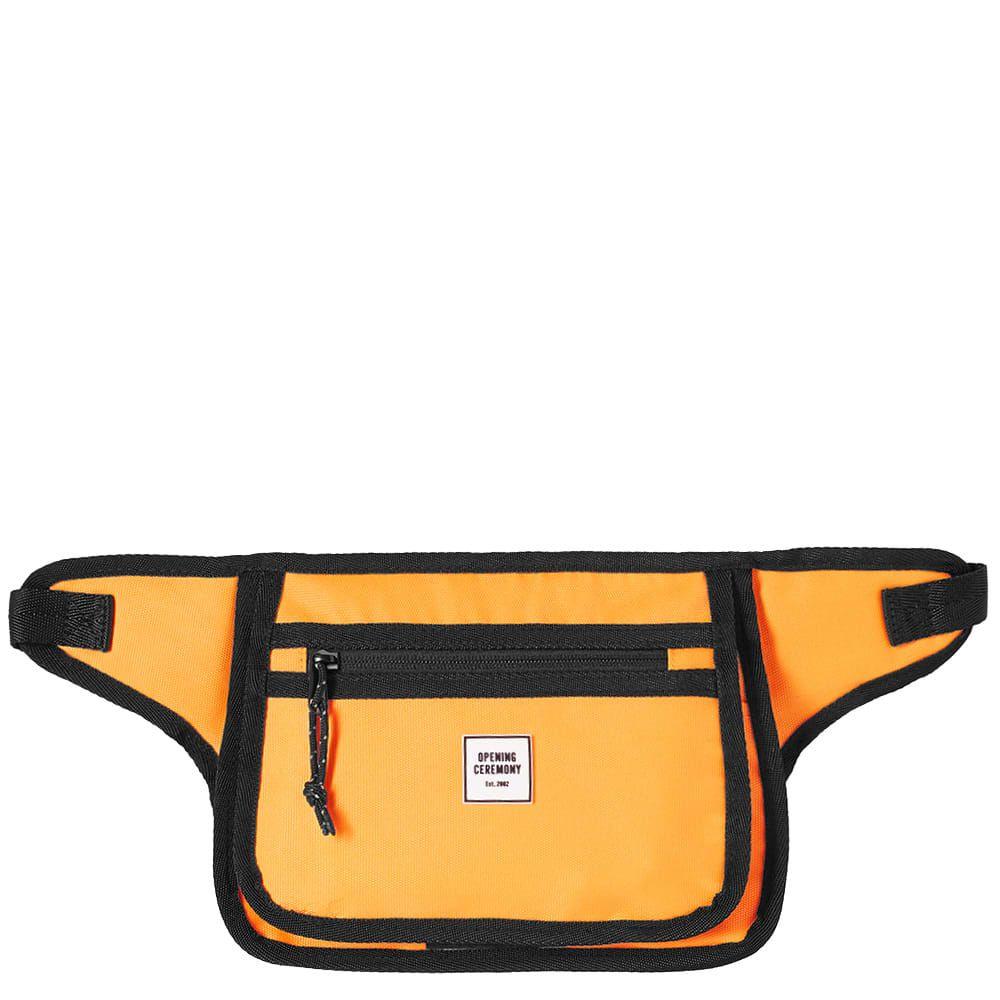 オープニングセレモニー Opening Ceremony メンズ ボディバッグ・ウエストポーチ バッグ【rectangular waist bag】Safety Orange