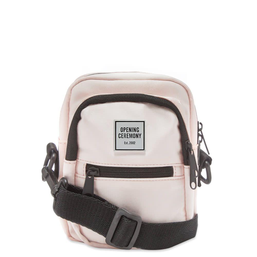 オープニングセレモニー Opening Ceremony メンズ ショルダーバッグ バッグ【satin mini cross-body bag】Pink Salt