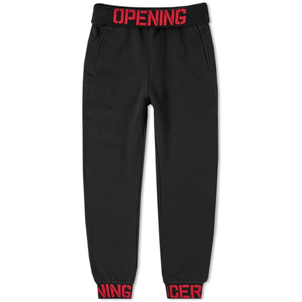 オープニングセレモニー Opening Ceremony メンズ スウェット・ジャージ ボトムス・パンツ【elastic logo sweat pant】Black