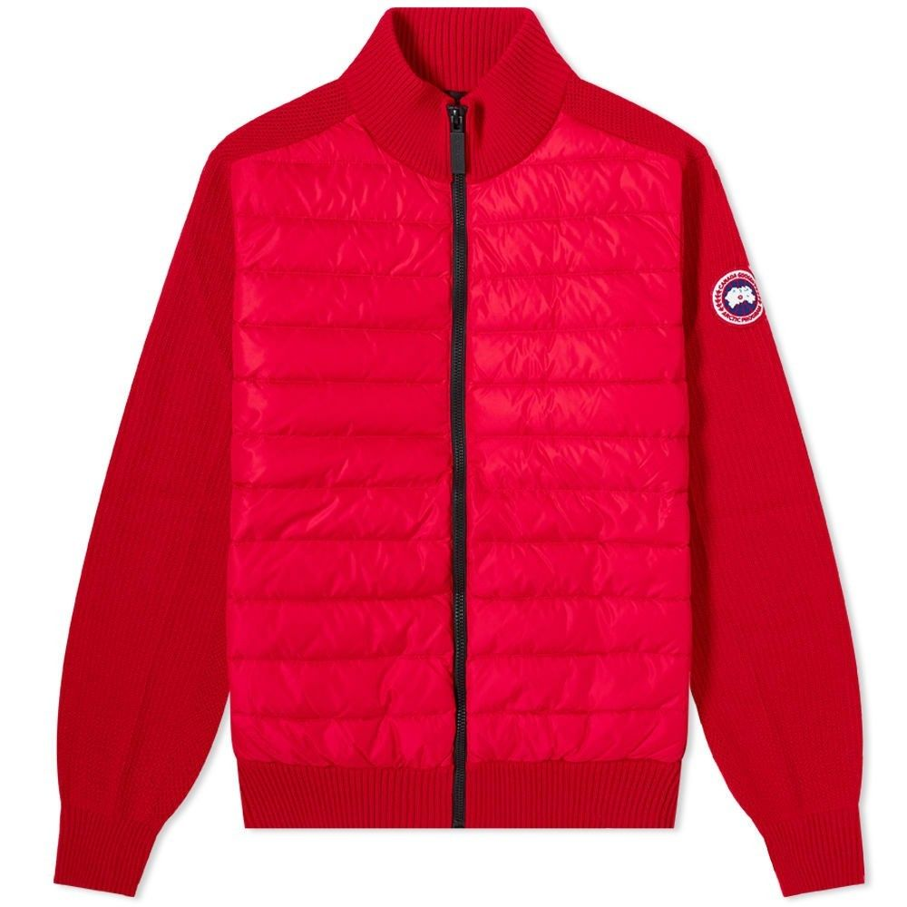 カナダグース Canada Goose メンズ ジャケット アウター【hybridge knit jacket】Red