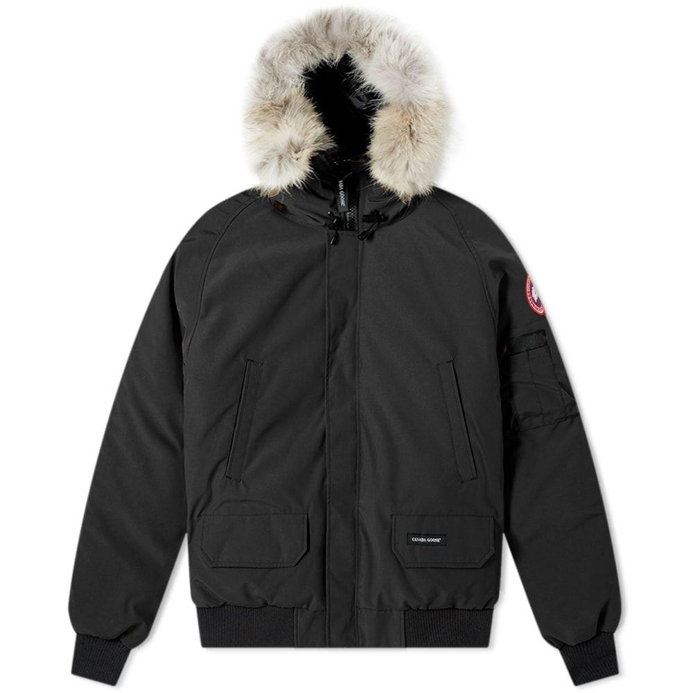カナダグース Canada Goose メンズ ブルゾン ミリタリージャケット アウター【chilliwack bomber jacket】Black