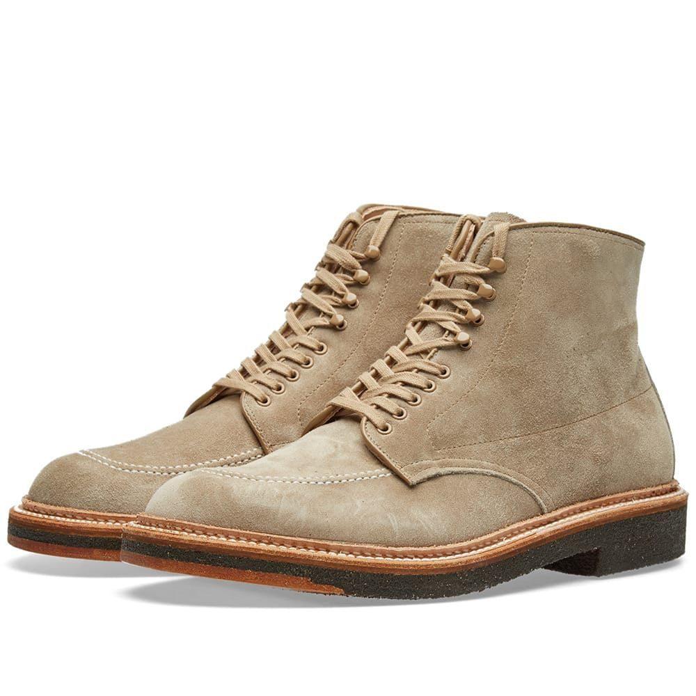 オールデン Alden Shoe Company メンズ シューズ・靴 ブーツ【Alden Indy Boot】Milkshake Suede